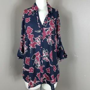 Express portofino Slim fit blouse NWT